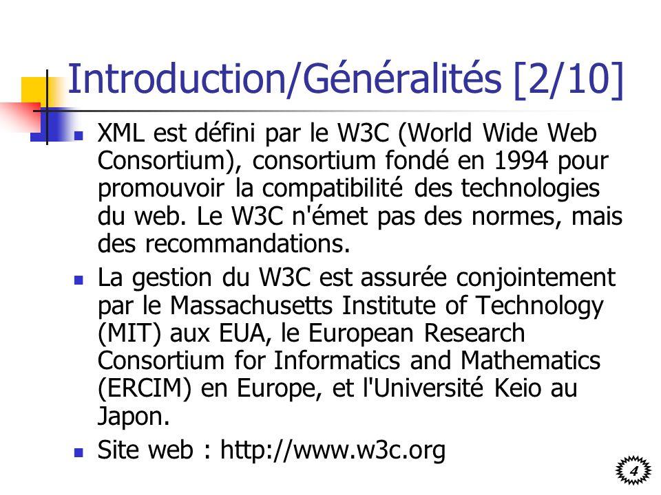Introduction/Généralités [2/10]